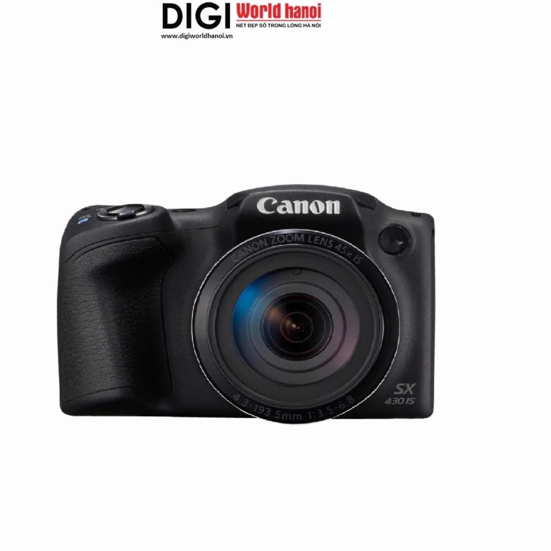 So sánh giá Canon SX430 IS/ màu đen/ Hãng phân phối chính hãng Tại Digiworld HN