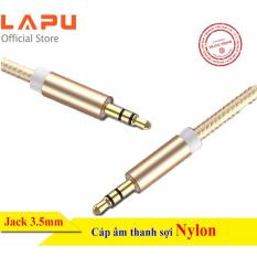 Cáp âm thanh đầu jack 3.5mm cho thiết bị loa, smartphone, máy tính bảng