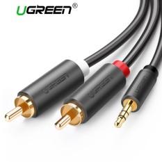 Cáp âm thanh RCA – 3.5mm loại tốt Ugreen AV102 (3m)