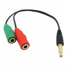 Cáp Chia Mic và Audio cho Điện thoại hát Karaoke
