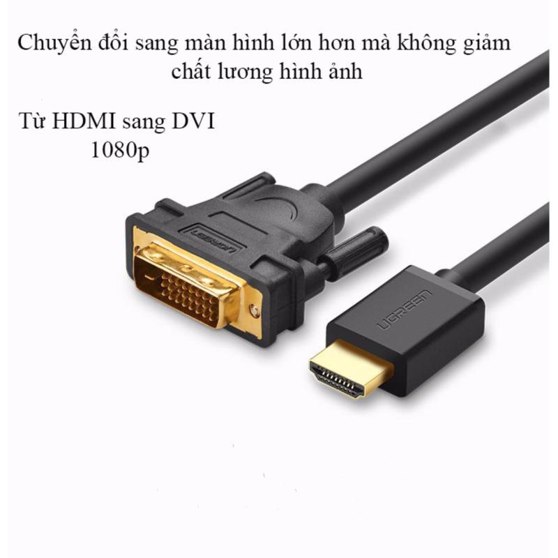 Bảng giá Cáp chuyển đổi HDMI to DVI Ugreen 11150 1.5M Phong Vũ