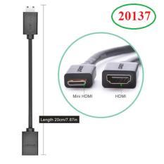 Cáp chuyển đổi Mini HDMI to HDMI Ugreen 20137