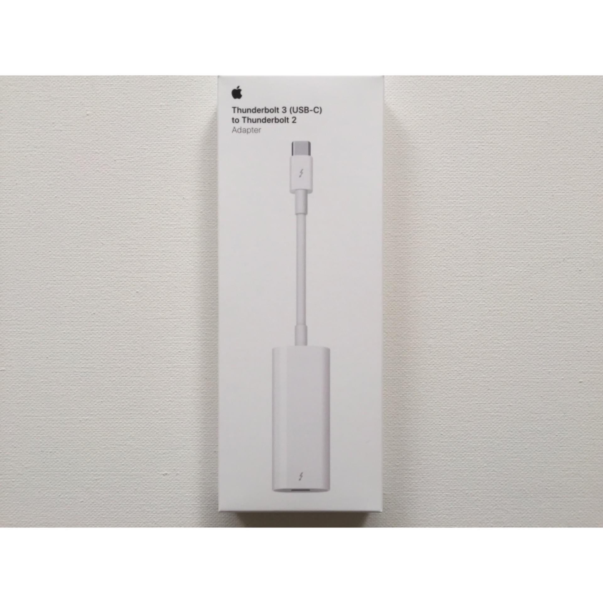 Cáp Chuyển Đổi Thunderbolt 3 (USB-C) đến Thunderbolt 2 Adapter_ Hàng Nhập Khẩu