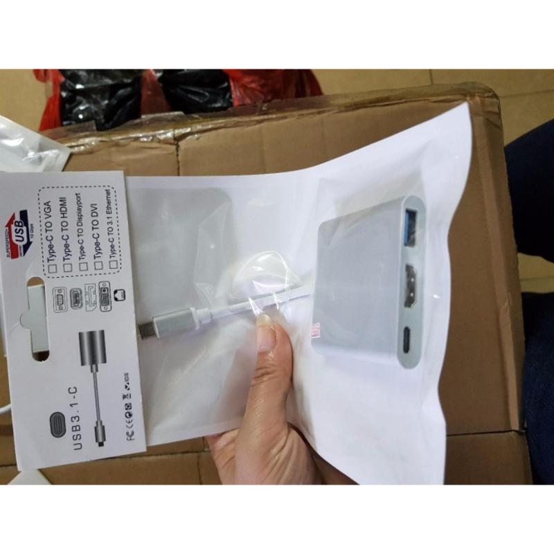 Bảng giá Cáp chuyển đổi USB Type-C sang HDMI + USB 3.0 Phong Vũ