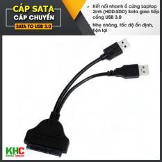 Cáp chuyển Sata to USB 3.0 ( Đen)
