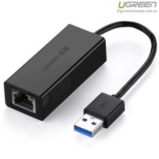 Cáp chuyển USB 3.0 to Lan hỗ trợ 10/100/1000 Mbps Ugreen UG-20256