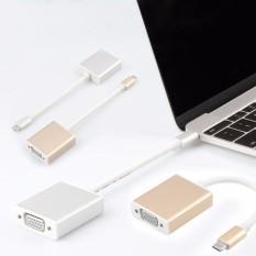 Cáp chuyển USB Type C sang VGA độ nét cao Full HD 1080p