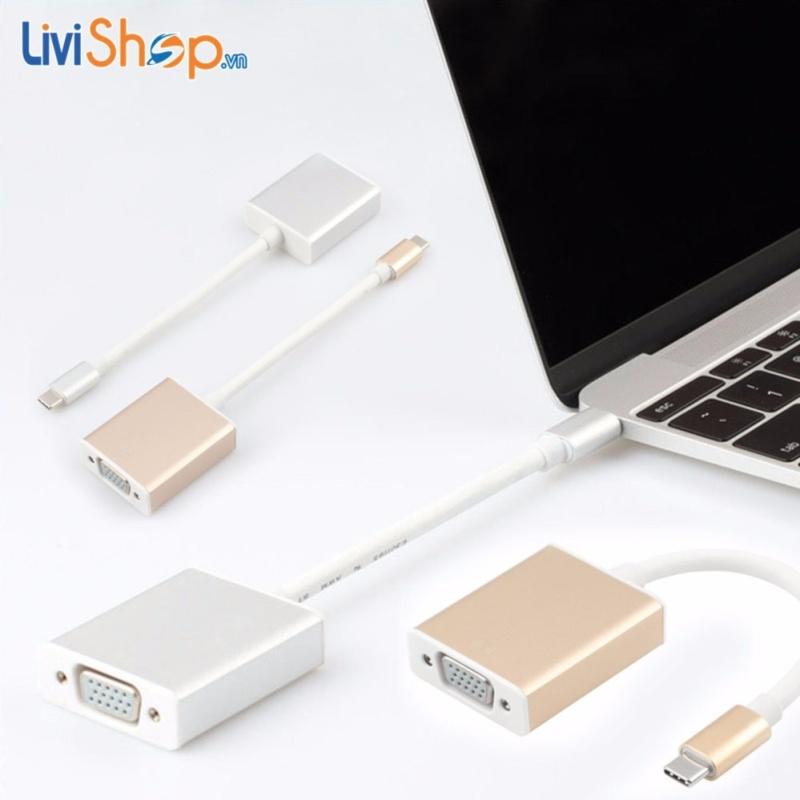 Bảng giá Cáp chuyển USB Type C sang VGA độ nét cao Full HD 1080p Phong Vũ
