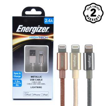 Cáp Dù Lightning Energizer Metallic 1.2m