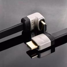 Cáp HDMI 2M dẹt nghiêng góc 90 độ chính hãng Ugreen 10279
