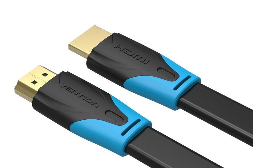 Cáp HDMI dẹt hỗ trợ 4K dài 2m