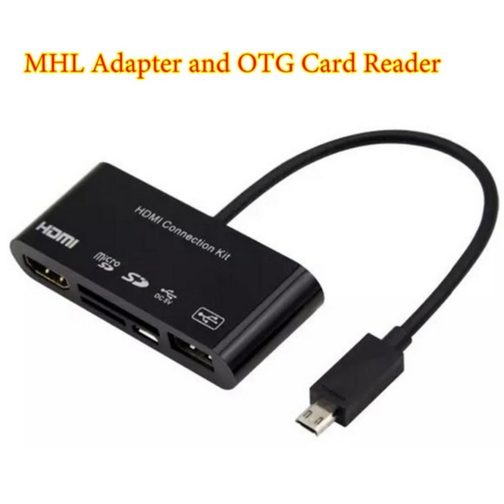 So sánh giá Cáp kết nối HDMI Kit OTG Card Reader cho Galaxy S3 S4 Note 2 Note 3 Tại Kho Hàng Vip