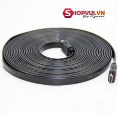 Giá Niêm Yết Dây cáp truyền tín hiệu HDMI FULL HD 5m dẹp (Đen) – Hàng nhập khẩu