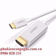 Cáp kết nối USB Type C to HDMI dài 1,5m hỗ trợ 3D, 4K Ugreen 30841