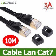 Cáp mạng cat7 dài 10M Ugreen 11265(Đen) LG TECH
