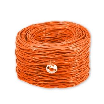 Cáp mạng Golden Link UTP Cat 5E 100m (Cam)