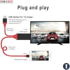 Cáp MHL Lightning to HDMI cho iPhone iPad (Red)