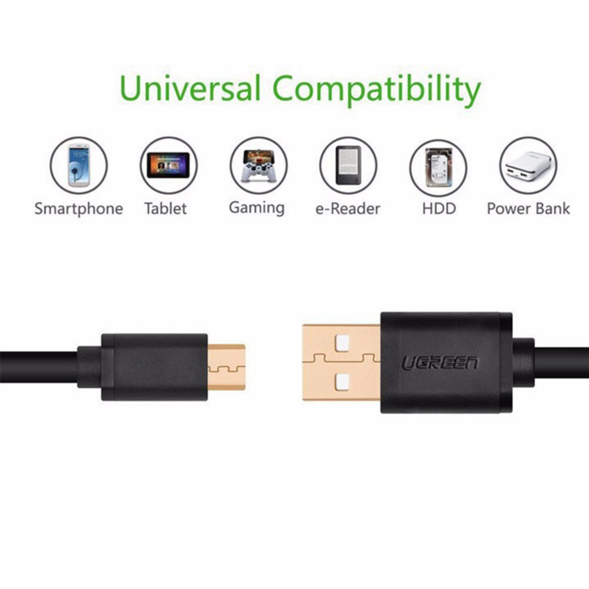 Cáp Micro USB to USB 3M Ugreen 10839