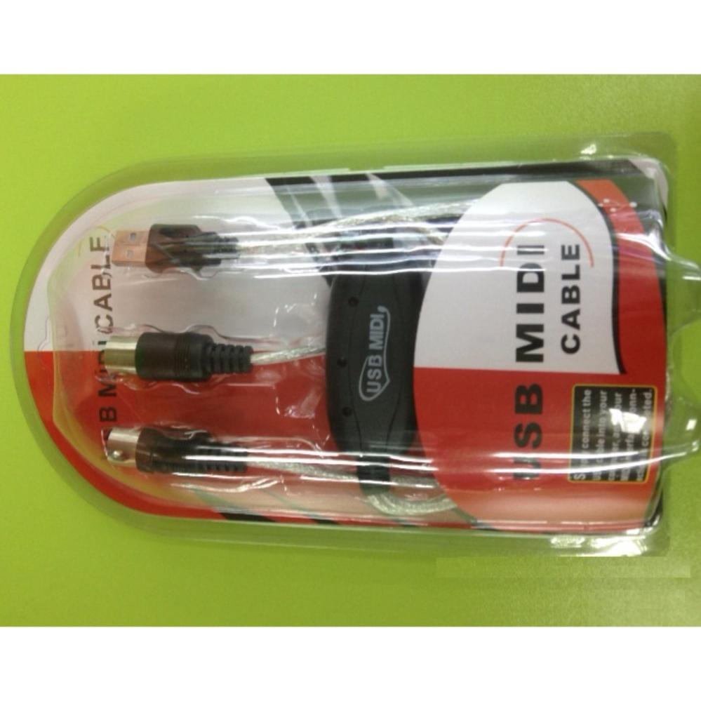 Cáp Midi to USB Cable cho Organ, Keyboard BC-08C (kết nối truyền tín hiệu, âm thanh MIDI sang USB)