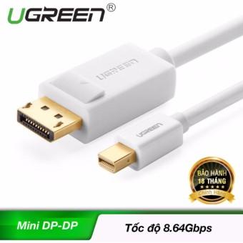 Giá Khuyến Mại Cáp Mini DisplayPort đực sang Displayport đực dài 2M UGREEN MD105 10408 – Hãng phân phối chính thức