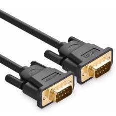 Cáp nối thẳng Com to Com RS232(9M-9M) 2M Ugreen 20154 (Đen)