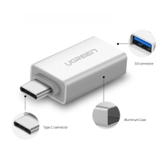 Cáp OTG USB 3.1 Type C to USB 3.0 Ugreen UG-30155 cho Máy tính bảng và Điện thoại