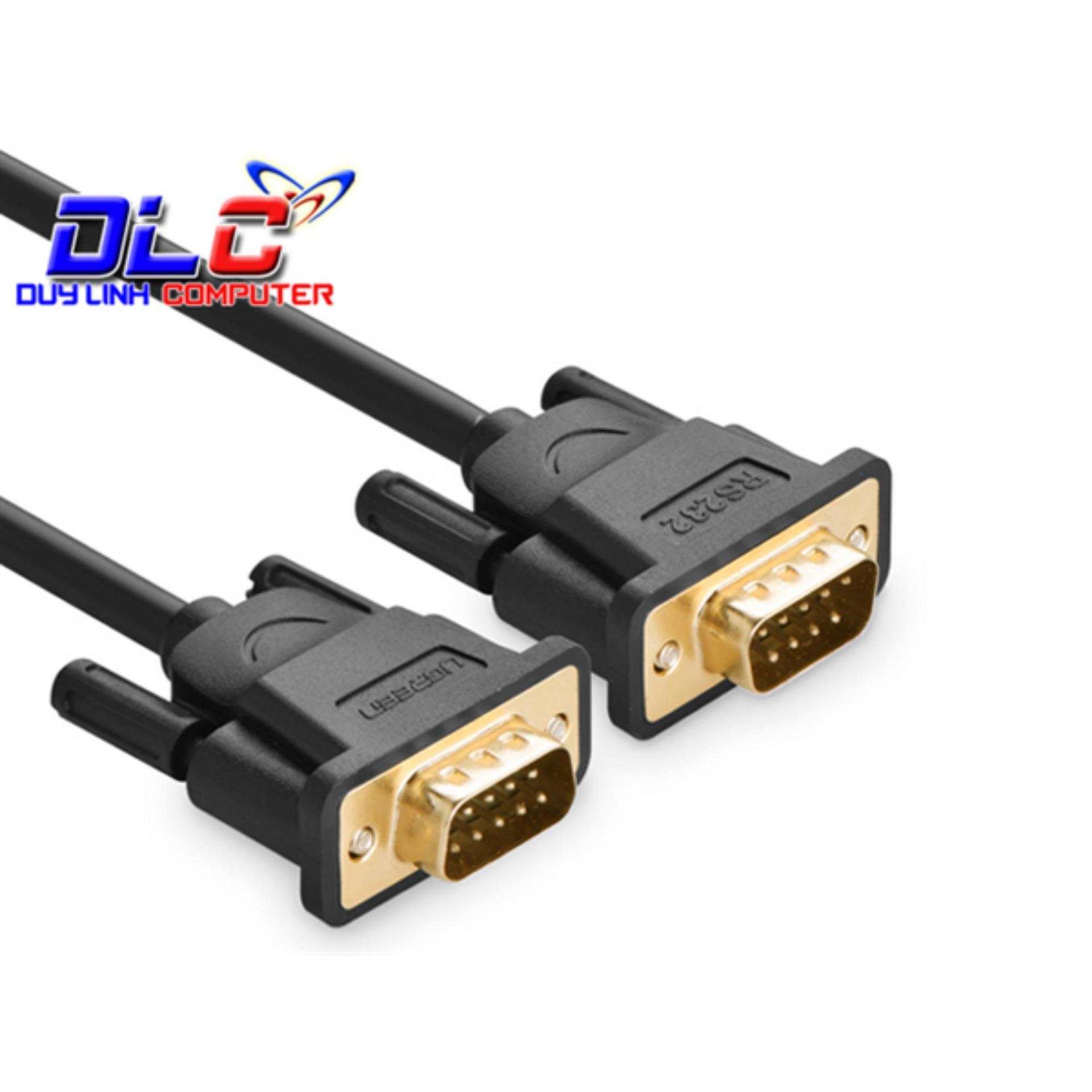 Cáp RS232 Dài 1.5m 2 Đầu Dương Ugreen 20153 Cao Cấp
