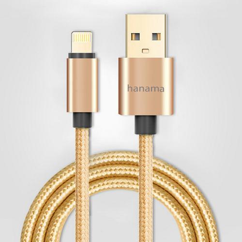 Đánh giá Cáp sạc bọc dù Hanama cho iphone 5 , iphone 6, iphone 7 siêu bền Tại Shop 9K