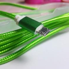 ►Cáp Sạc Micro USB Bọc Dù Siêu Bền◄Dây sạc cho Android, SAMSUNG – BBVL