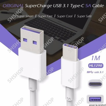 Cáp sạc nhanh USB Type C cho HTC 10 (Trắng)