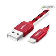 Cáp sạc USB Lightning 1m Ugreen 40479 cho iPhone 5/6/7 Plus, iPad vỏ bọc lưới chuẩn MFI Apple