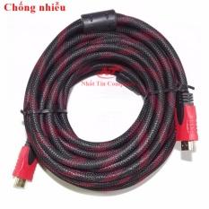 Cáp tín hiệu HDMI chống nhiễu dài 10m VS – loại tròn dày (đen)