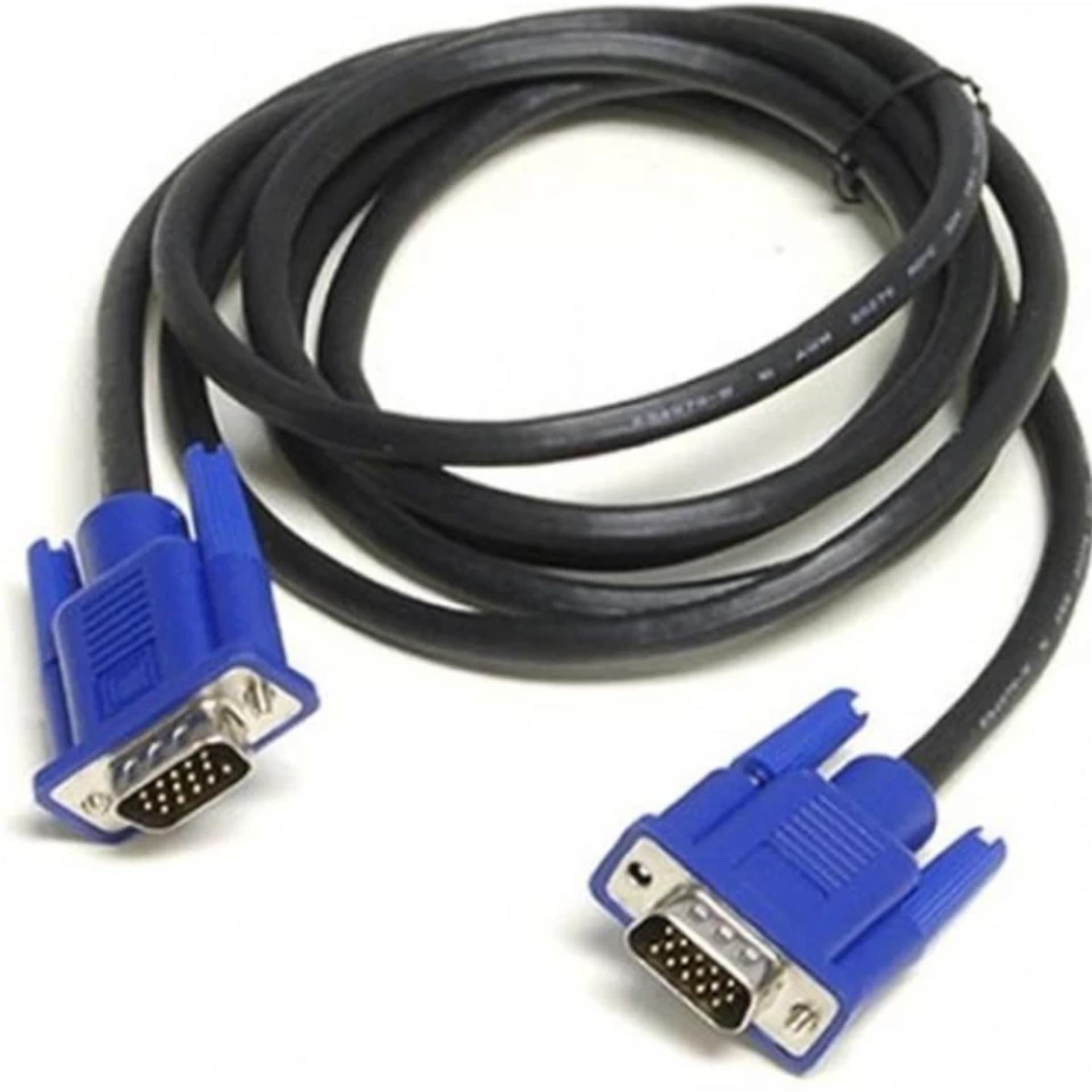 Cáp tín hiệu VGA dành cho máy tính dài 1.5m VS (Xanh)
