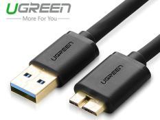 Cáp chuyển USB 3.0 sang Micro B 0.5m Ugreen 10840 (Đen)