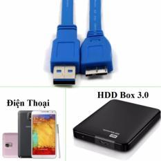 [Tôm Sâu] Giá Cáp USB 3.0 AM – Micro BM cho HDD BOX  90.000đ