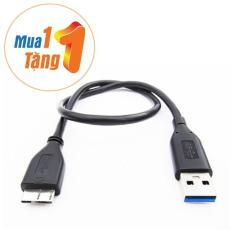 Cáp USB 3.0 AM-MicroBM 0.5M western digital