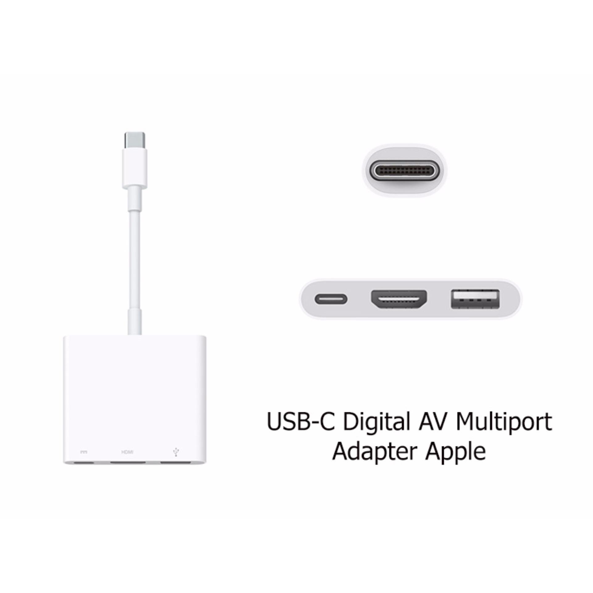 Cáp USB-C Digital AV Multiport Adapter Apple – Nhập khẩu Apple – Phụ Kiện Vàng