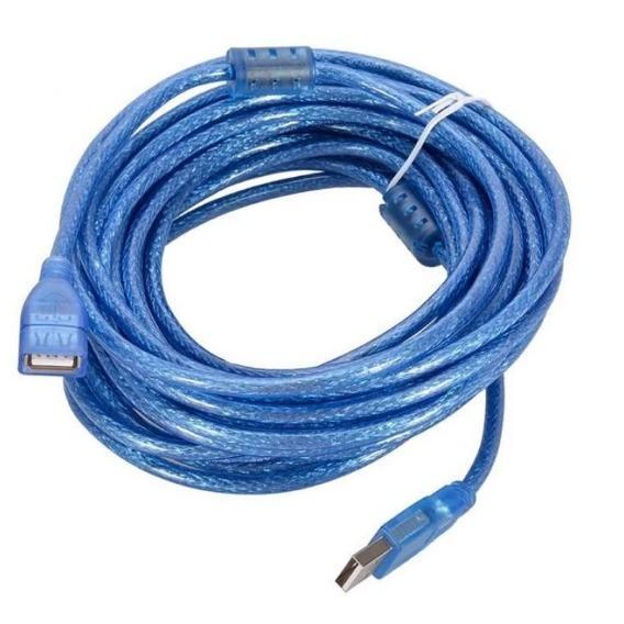 Cáp USB nối dài 10m( Xanh)