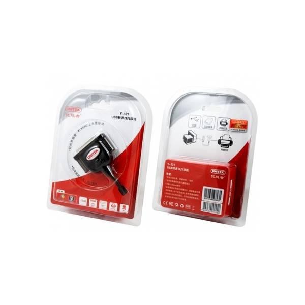 Cáp USB Ra LPT 25 Chân Unitek Y-121