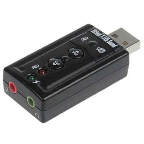 Trang bán Card âm thanh 3D USB Taiwan 7.1 (Đen)