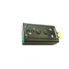 Giá bán Card âm thanh 3D USB Taiwan 7.1 (Đen)