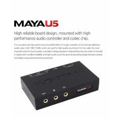 Card âm thanh Audiotrak Maya U5 (5.1)