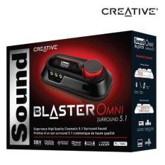 Đánh giá Card âm thanh Creative Sound Blaster Omni Surround 5.1 (SB1560) Tại dienmayviet.
