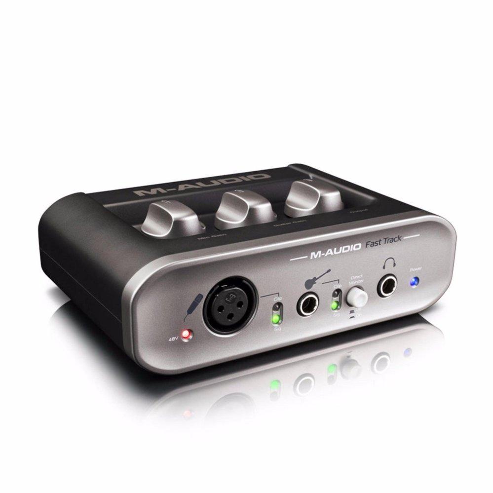 Cardsound thu âm M-Audio Fast Track MKII(Đen)
