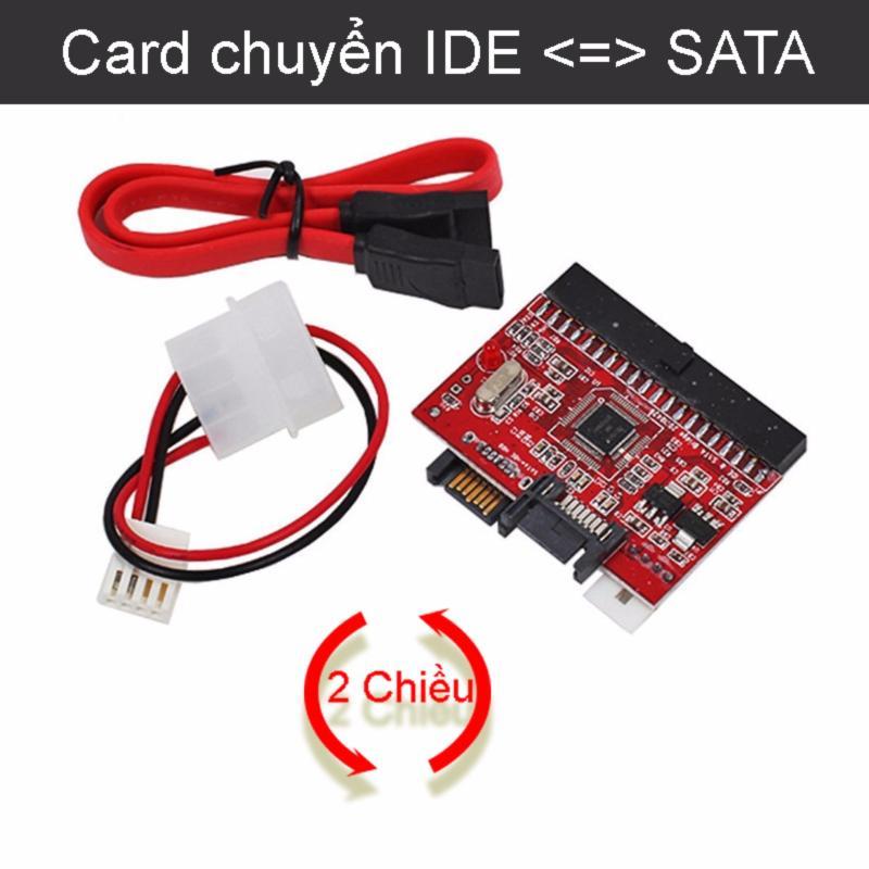Bảng giá Card chuyển IDE/ATA sang SATA (chuyển 2 chiều SATA sang IDE) Phong Vũ