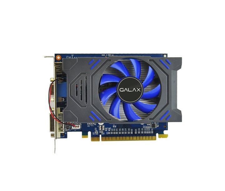 Card màn hình Galax GT 730 1GB DDR5 (Xanh phối Đen)