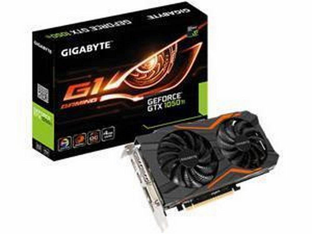 Card màn hình Gigabyte GTX 1050 Ti OC GV-N105TOC - 4GB