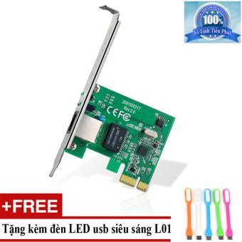Chỗ bán Card Mạng Gigabit PCI Express TP-link TG-3468 + Tặng đèn LED usb mã L01