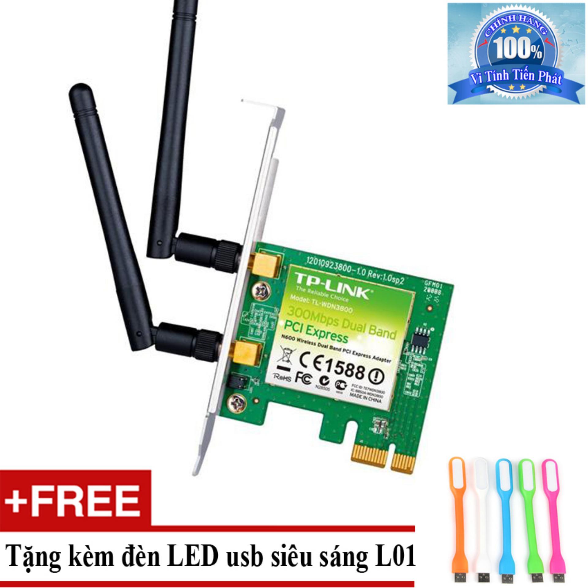 Đánh giá Card mạng thu WiFi TP-Link TL-WN881ND + Tặng đèn LED usb mã L01 Tại Vi Tính – Laptop Tiến Phát