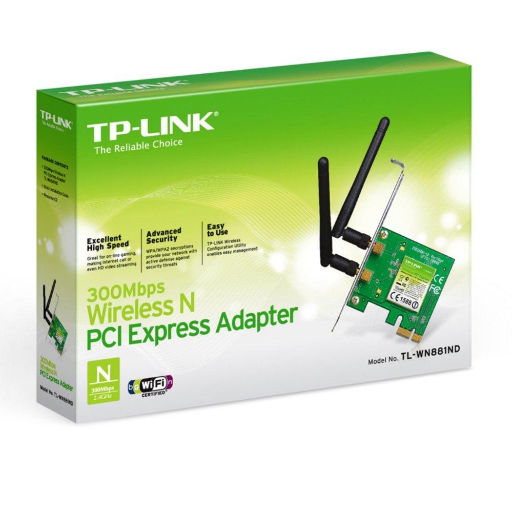 Đánh giá Card mạng TP-Link PCI TL-WN881ND 300M Tại KalumaX